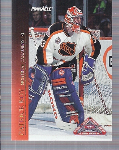 1993-94 Pinnacle All-Stars Canadian #18 Patrick Roy