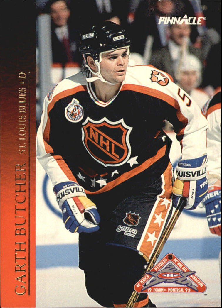 1993-94 Pinnacle All-Stars Canadian #24 Garth Butcher
