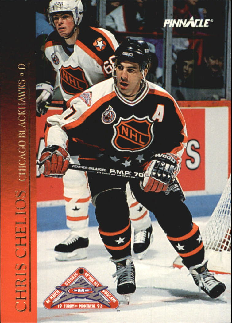 1993-94 Pinnacle All-Stars Canadian #26 Chris Chelios