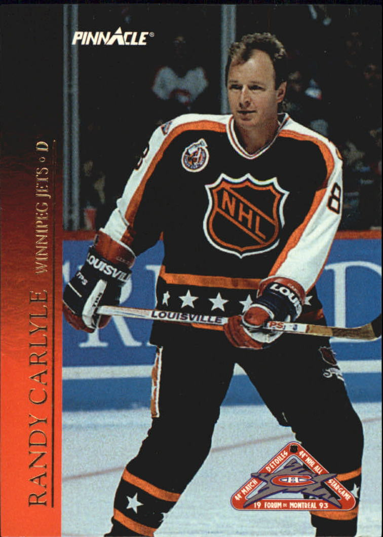 1993-94 Pinnacle All-Stars Canadian #27 Randy Carlyle