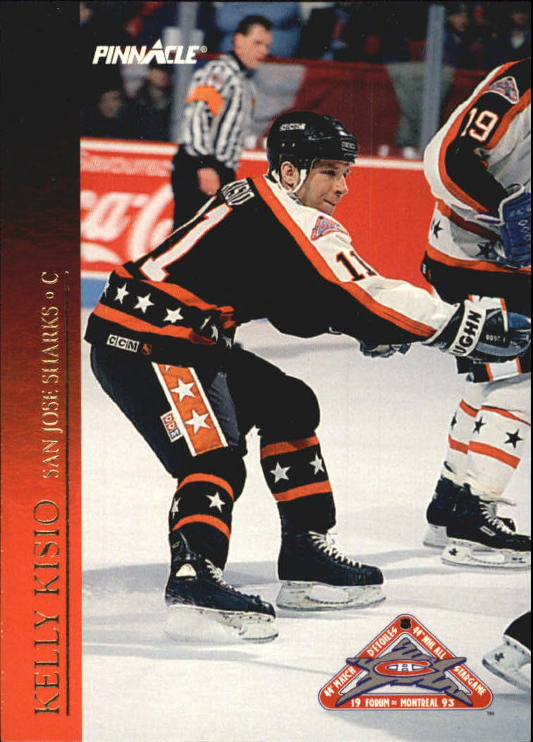1993-94 Pinnacle All-Stars Canadian #30 Kelly Kisio
