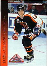 1993-94 Pinnacle All-Stars Canadian #32 Teemu Selanne