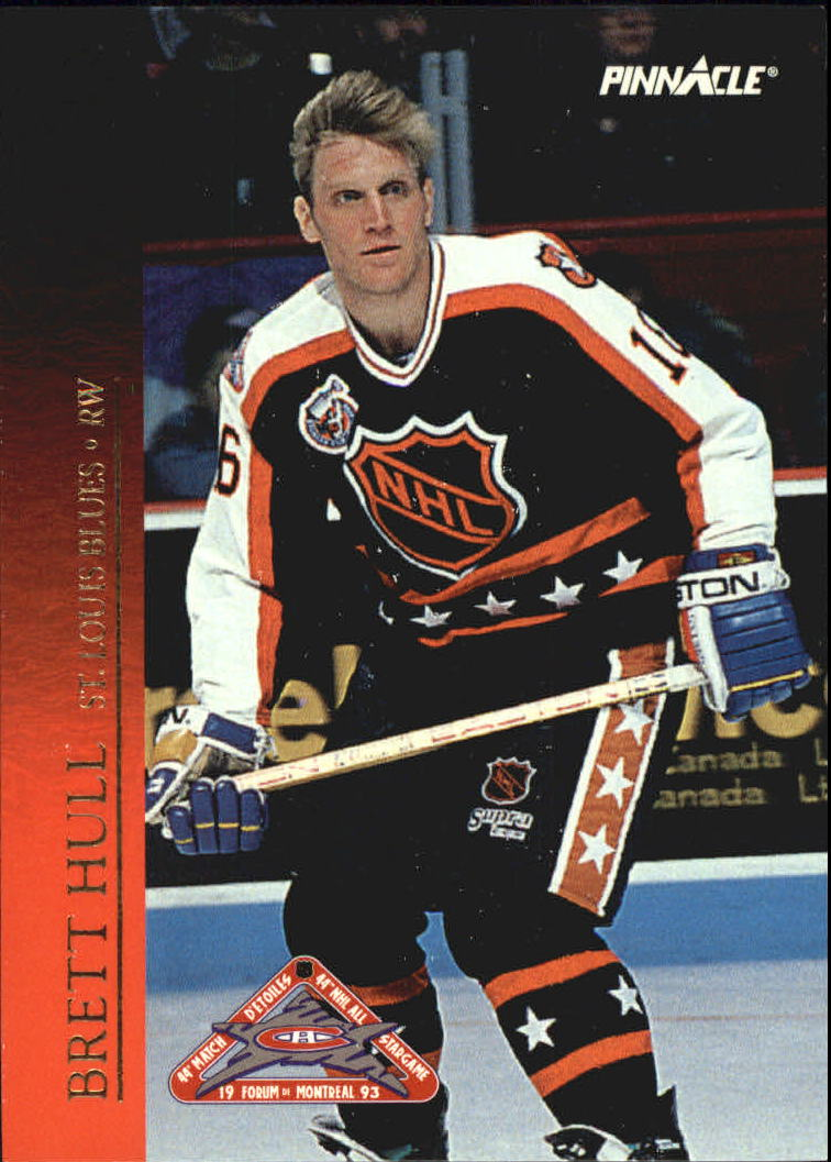 1993-94 Pinnacle All-Stars Canadian #34 Brett Hull