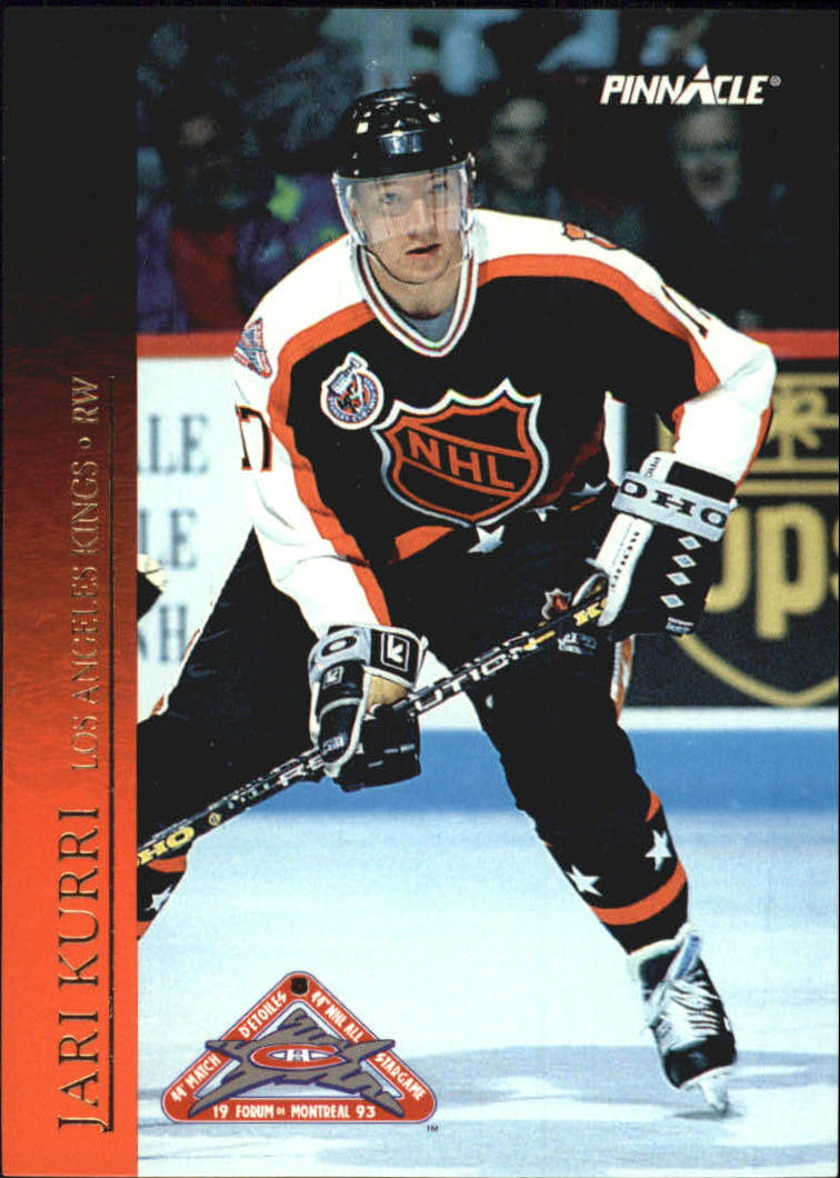 1993-94 Pinnacle All-Stars Canadian #35 Jari Kurri