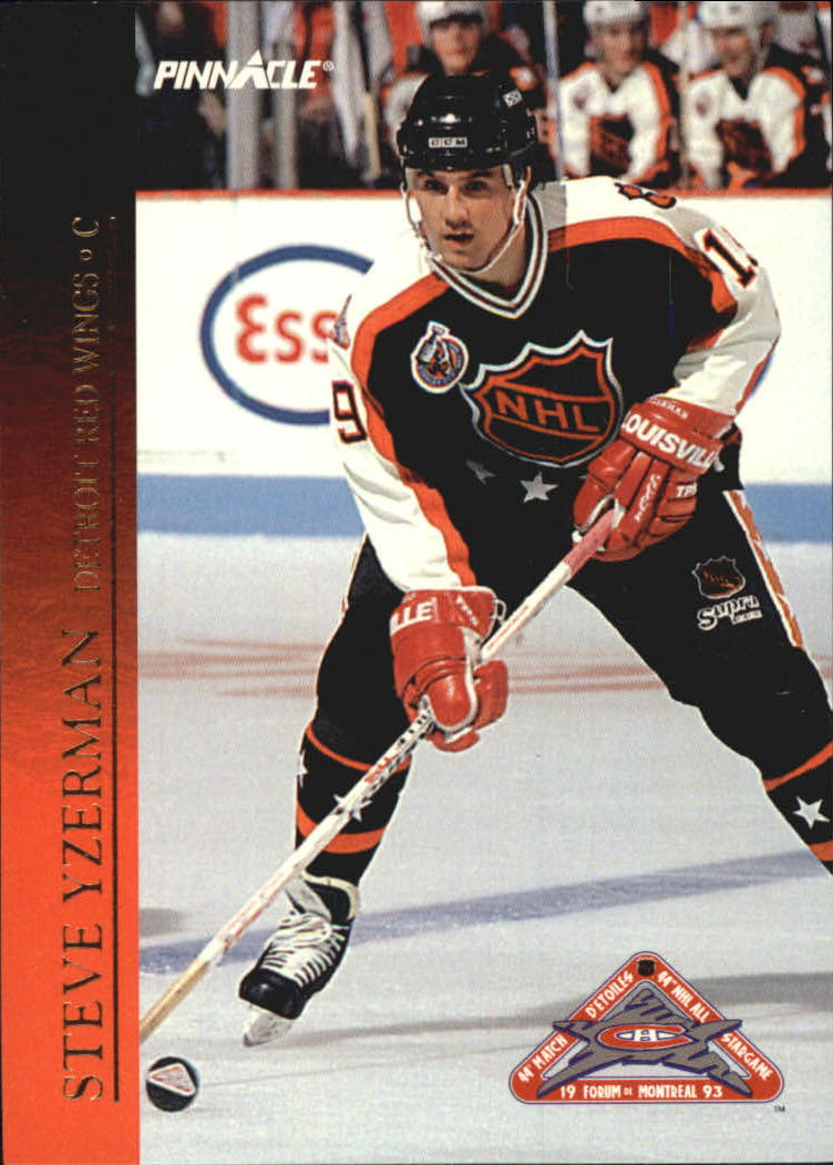 1993-94 Pinnacle All-Stars Canadian #36 Steve Yzerman