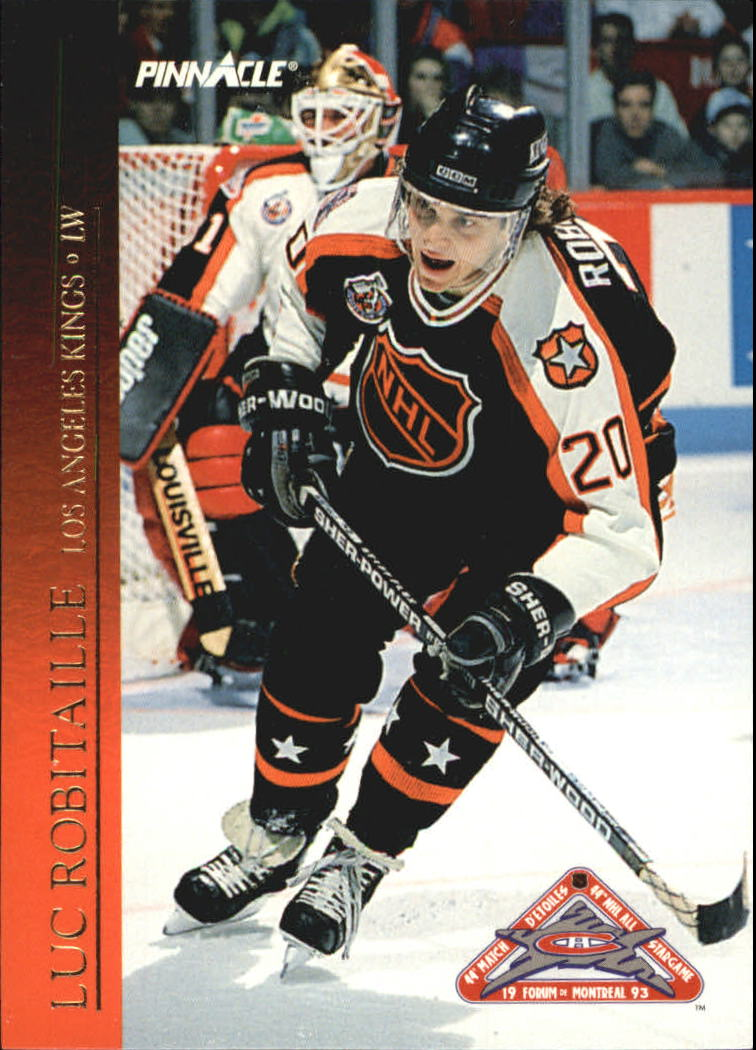 1993-94 Pinnacle All-Stars Canadian #37 Luc Robitaille