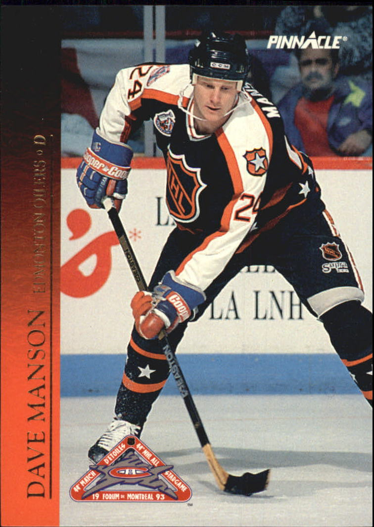 1993-94 Pinnacle All-Stars Canadian #38 Dave Manson
