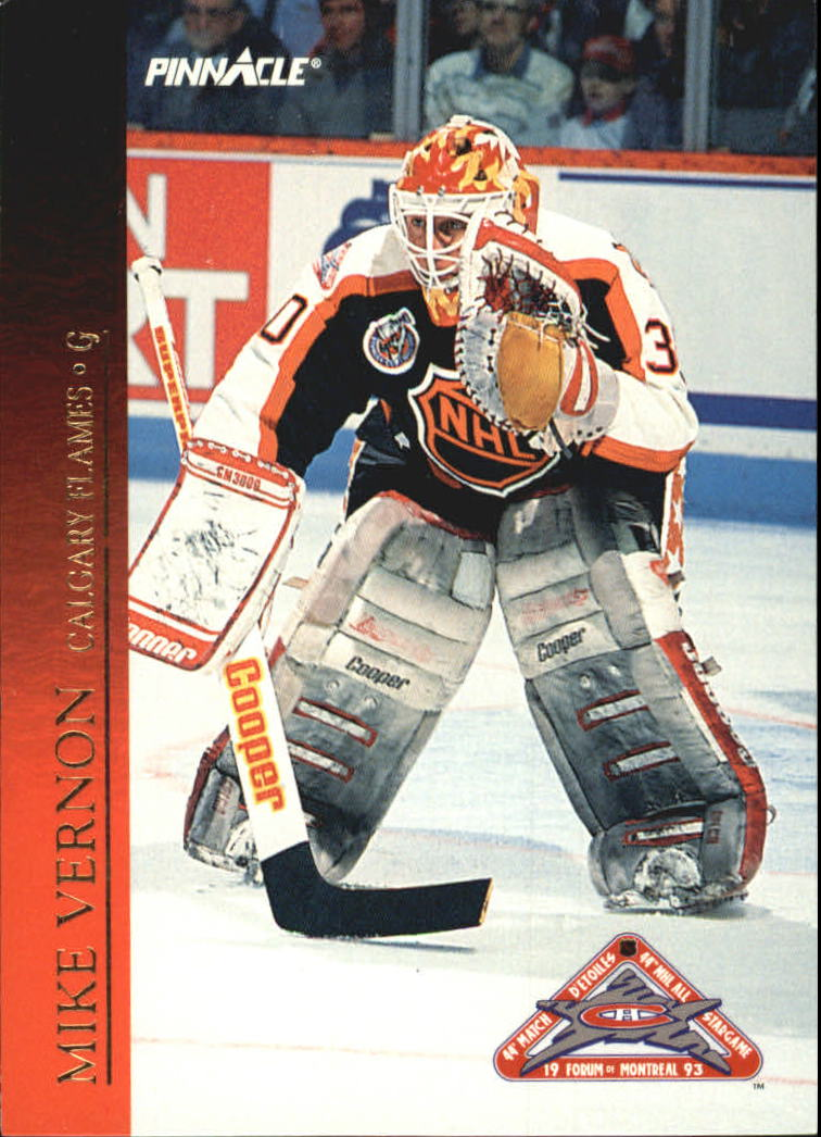 1993-94 Pinnacle All-Stars Canadian #40 Mike Vernon