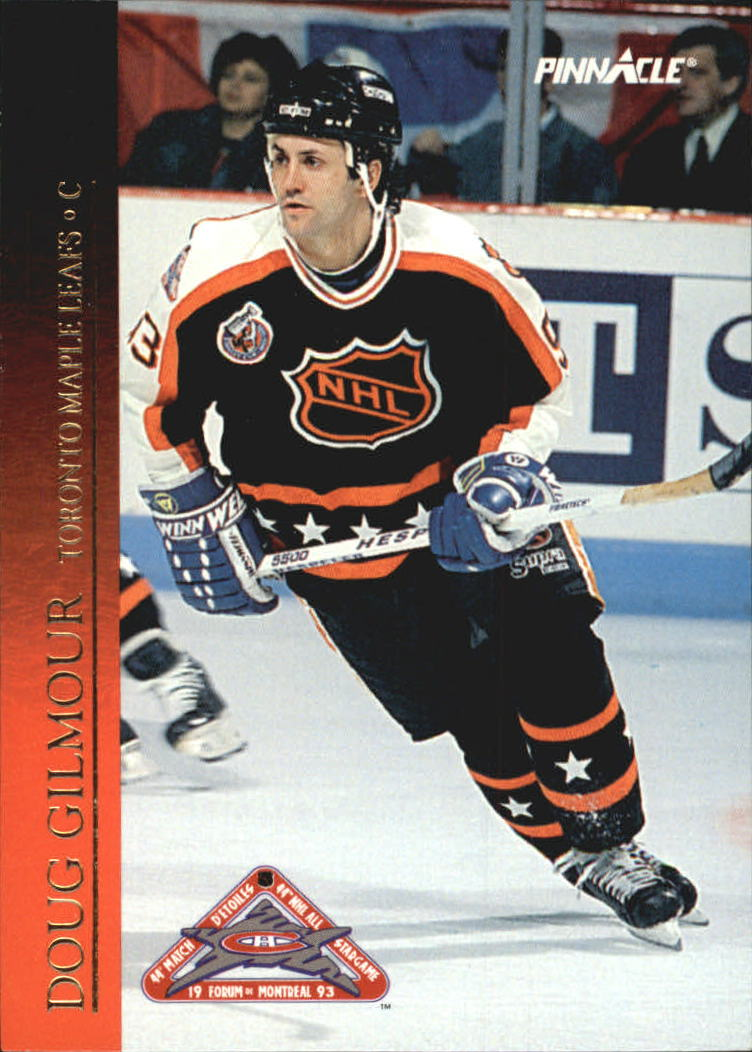 1993-94 Pinnacle All-Stars Canadian #44 Doug Gilmour