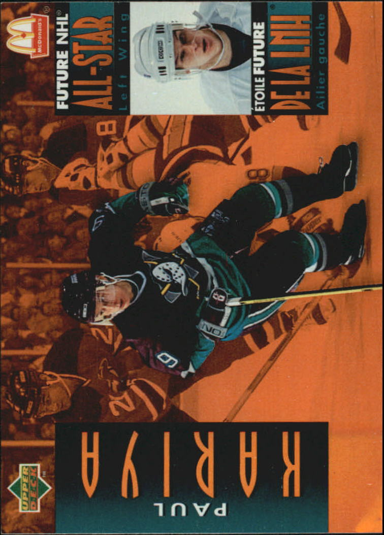 1994-95 McDonald's Upper Deck #McD32 Paul Kariya