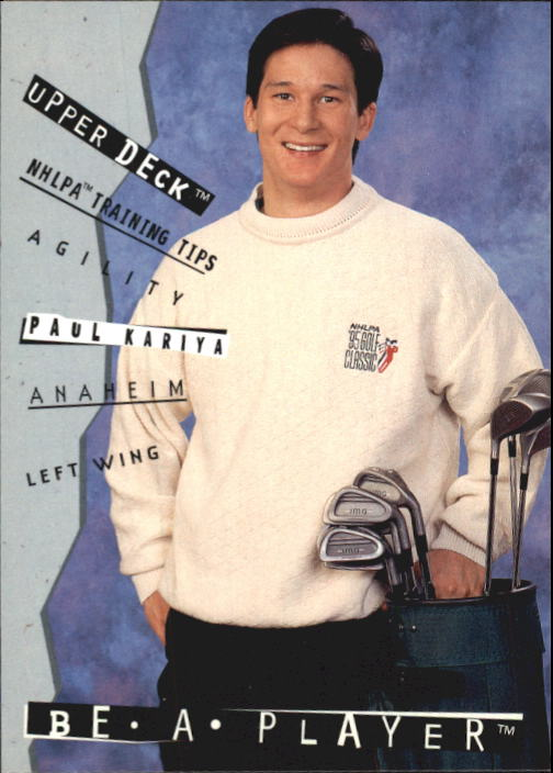 1994-95 Be A Player #R103 Paul Kariya