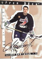 1994-95 Be A Player Autographs #67 Alexander Godynyuk