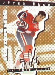 1994-95 Be A Player Autographs #97 Tony Amonte