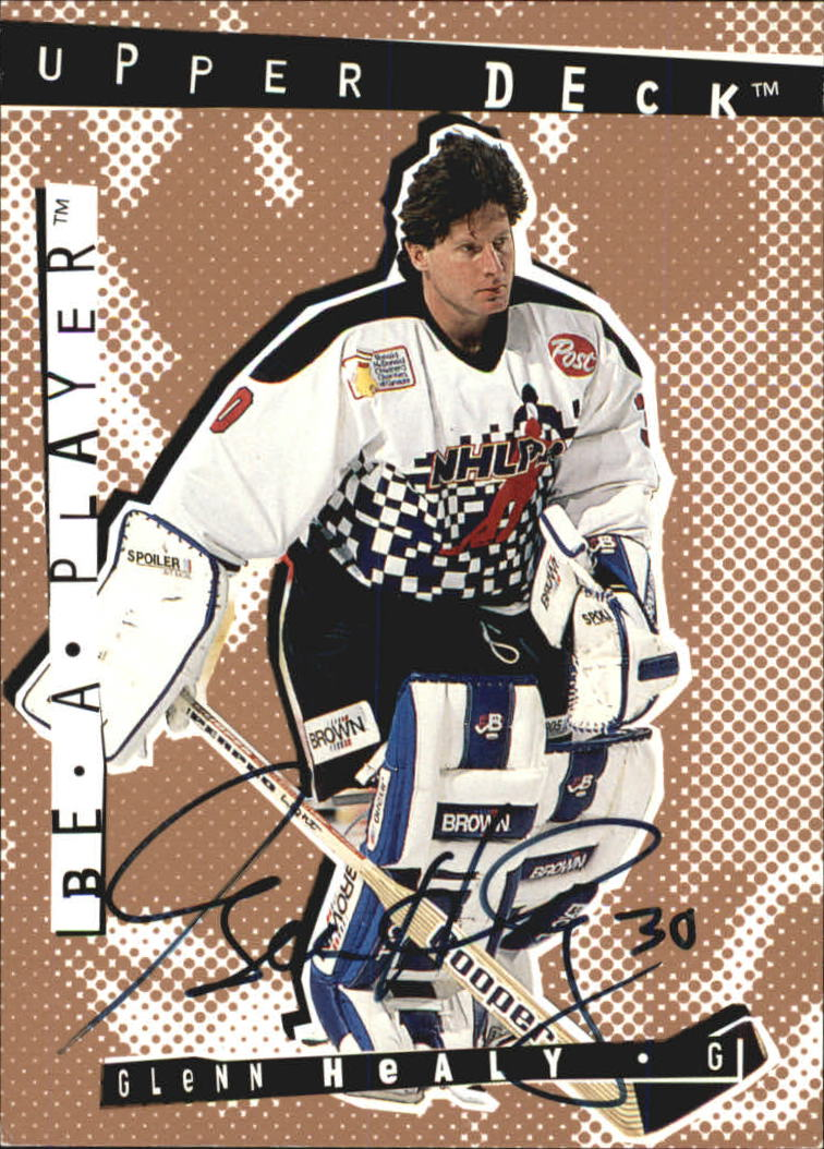 1994-95 Be A Player Autographs #128 Glenn Healy