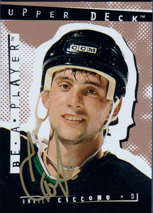 1994-95 Be A Player Autographs #132 Enrico Ciccone