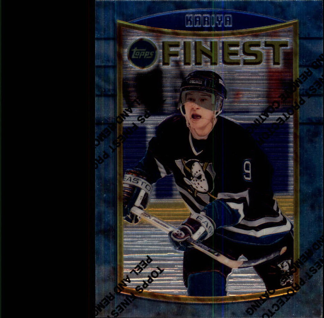 1994-95 Finest #7 Paul Kariya