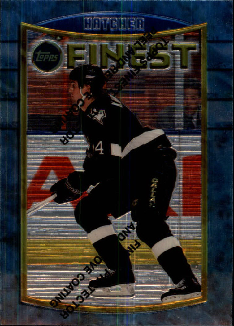 1994-95 Finest #17 Kevin Hatcher