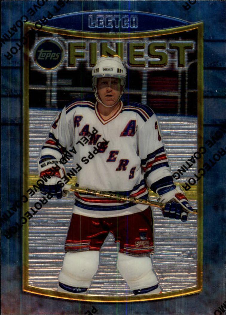 1994-95 Finest #49 Brian Leetch