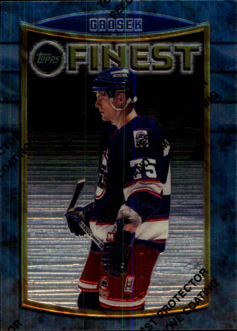 1994-95 Finest #64 Michal Grosek RC