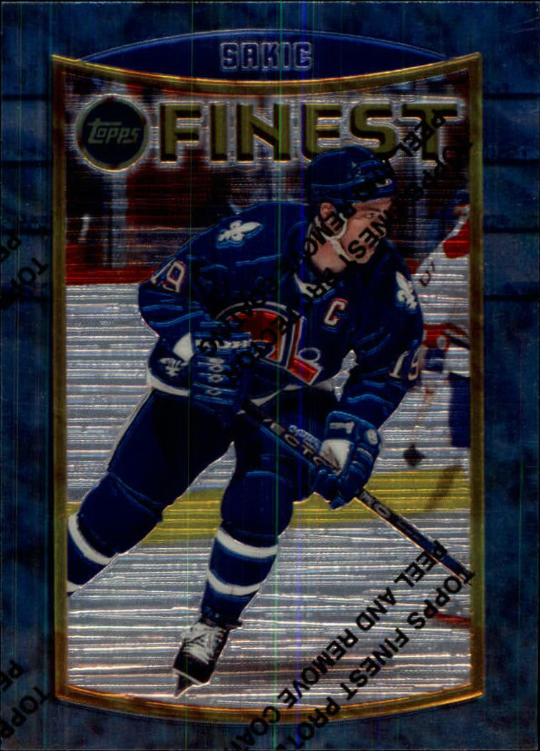 1994-95 Finest #69 Joe Sakic