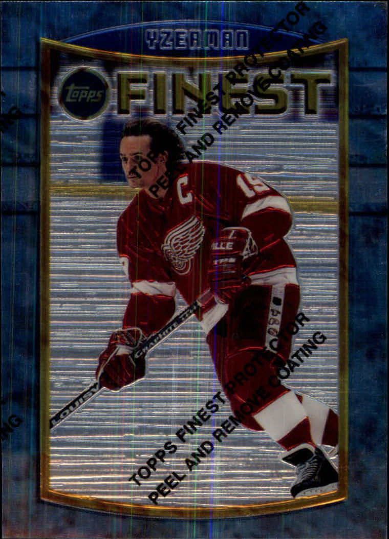 1994-95 Finest #84 Steve Yzerman