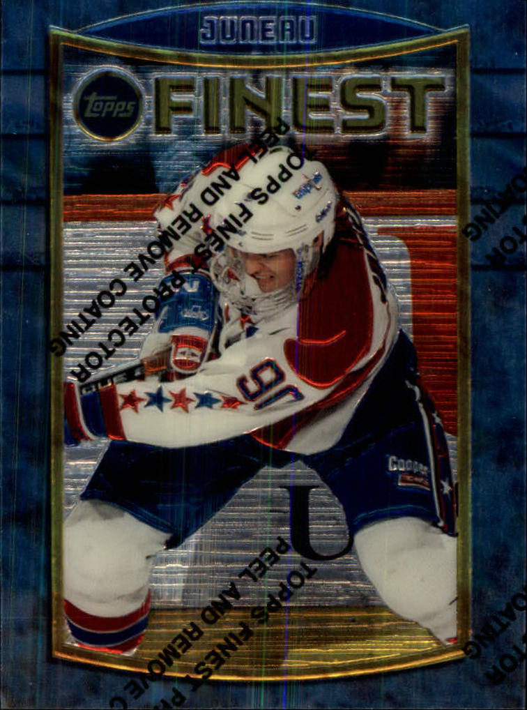 1994-95 Finest #93 Joe Juneau