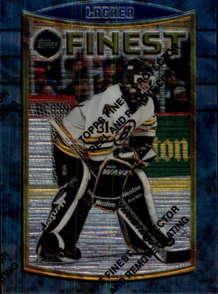 1994-95 Finest #95 Blaine Lacher RC