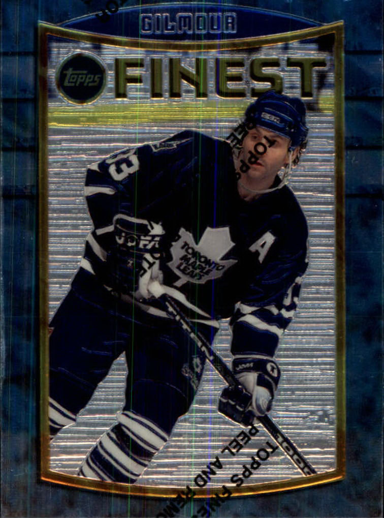 1994-95 Finest #100 Doug Gilmour