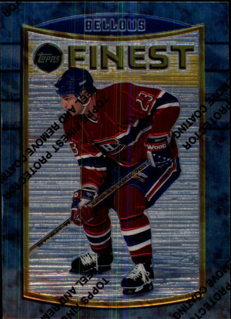 1994-95 Finest #105 Brian Bellows