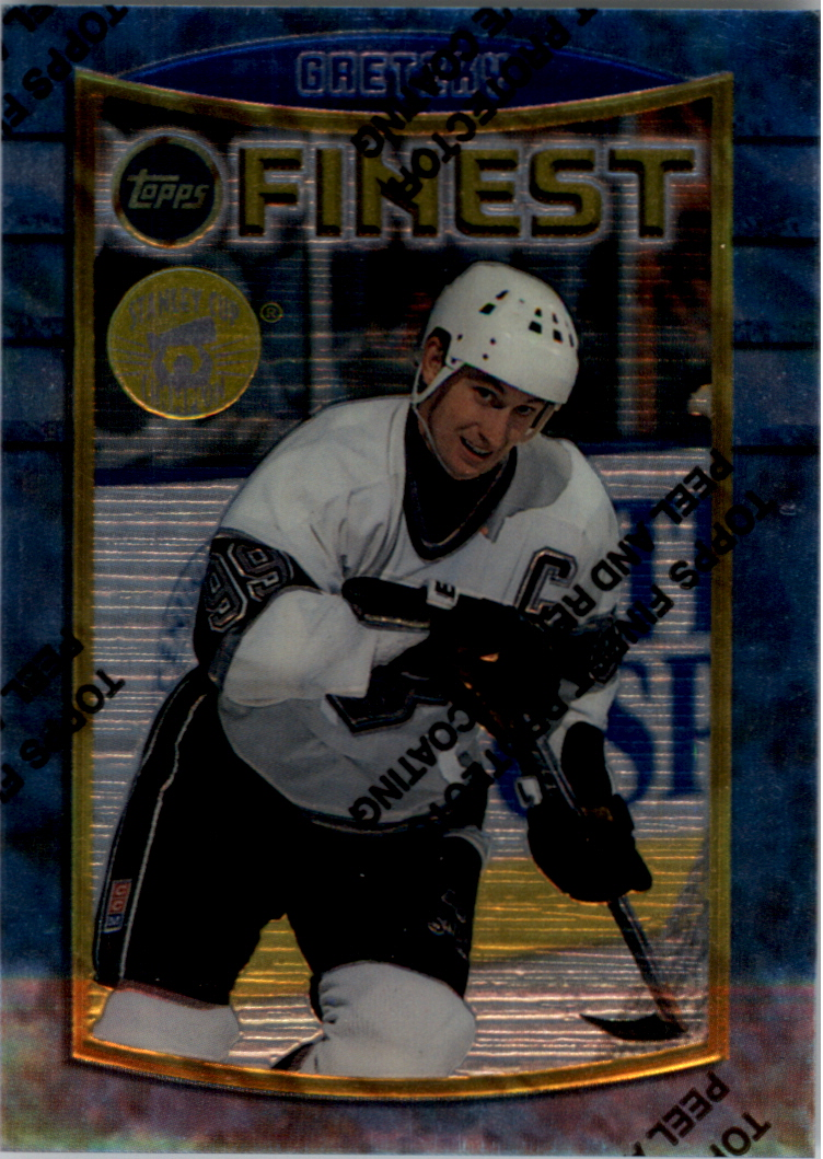 1994-95 Finest Super Team Winners #41 Wayne Gretzky
