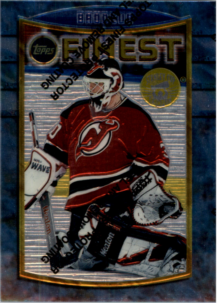 1994-95 Finest Super Team Winners #71 Martin Brodeur