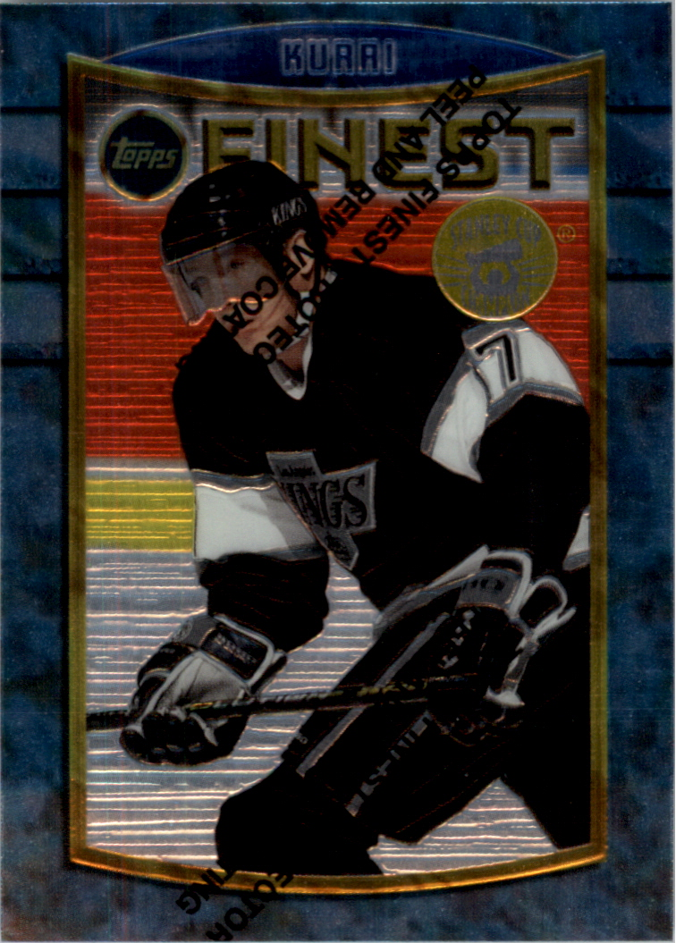 1994-95 Finest Super Team Winners #81 Jari Kurri
