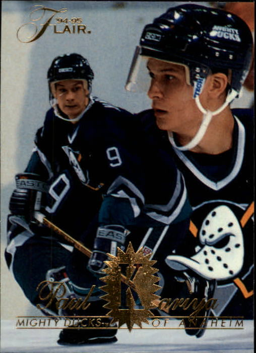 1994-95 Flair #4 Paul Kariya
