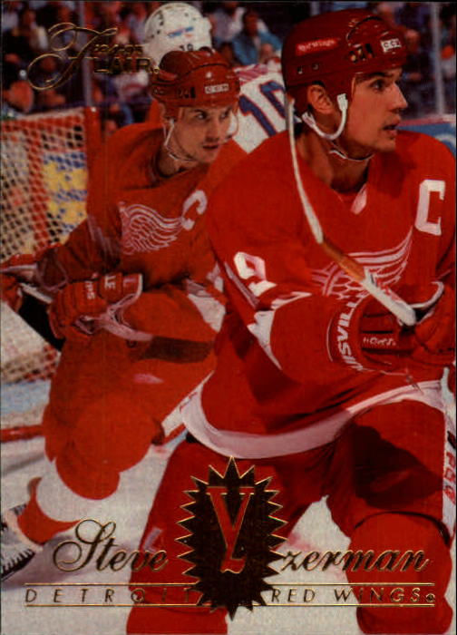 1994-95 Flair #55 Steve Yzerman