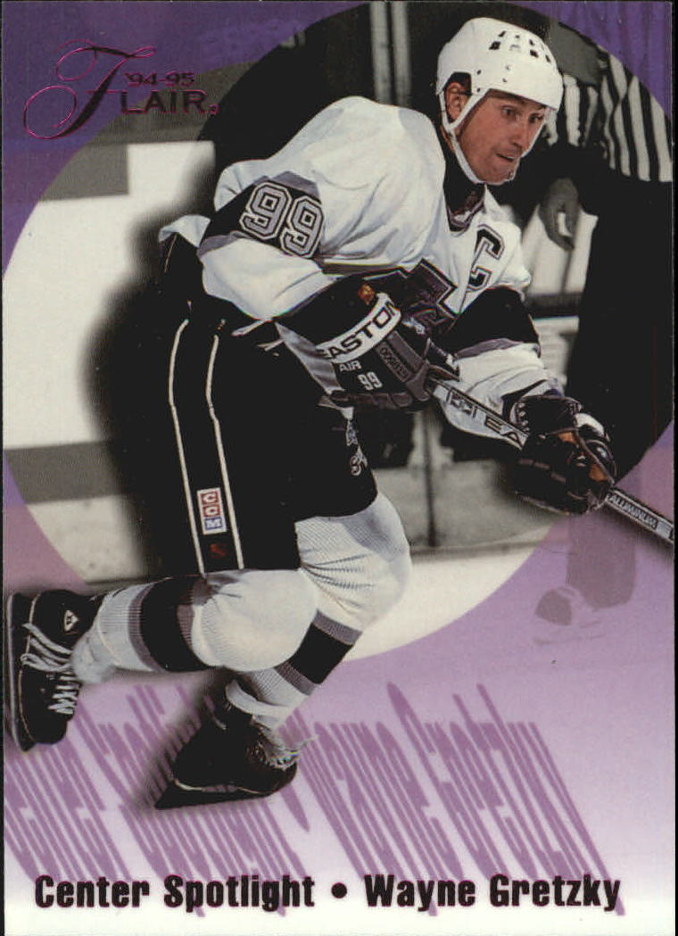 1994-95 Flair Center Spotlight #4 Wayne Gretzky