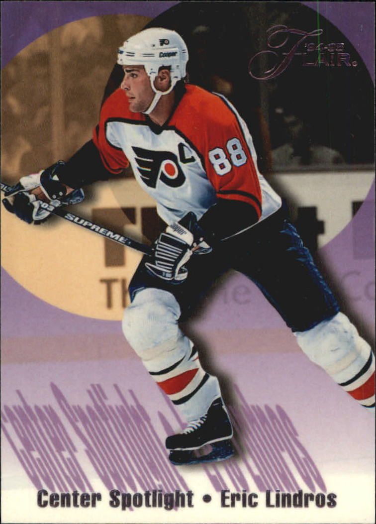 1994-95 Flair Center Spotlight #7 Eric Lindros