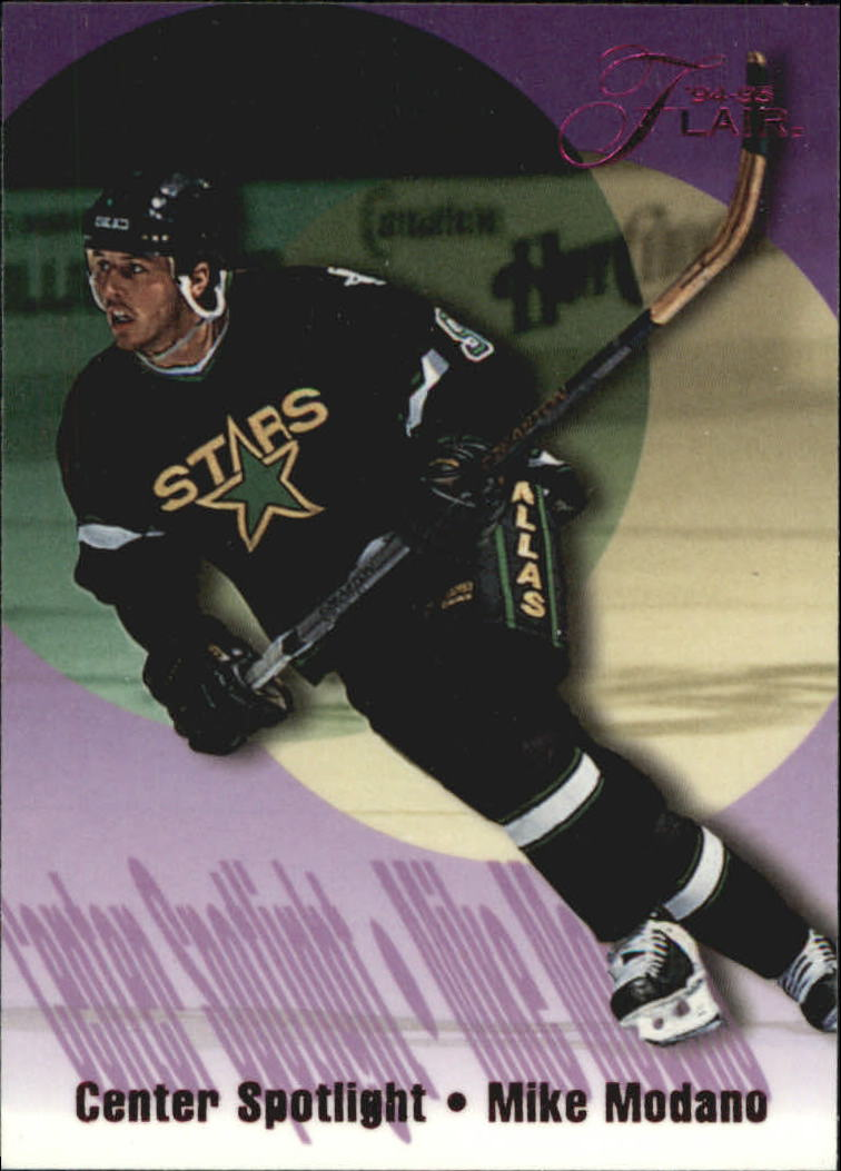 1994-95 Flair Center Spotlight #9 Mike Modano