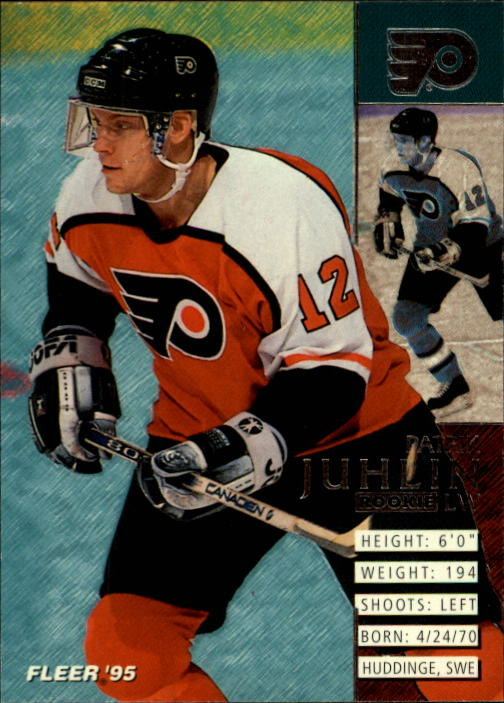 1994-95 Fleer #155 Patrik Juhlin RC
