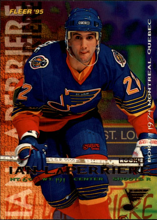 1994-95 Fleer #189 Ian Laperriere RC