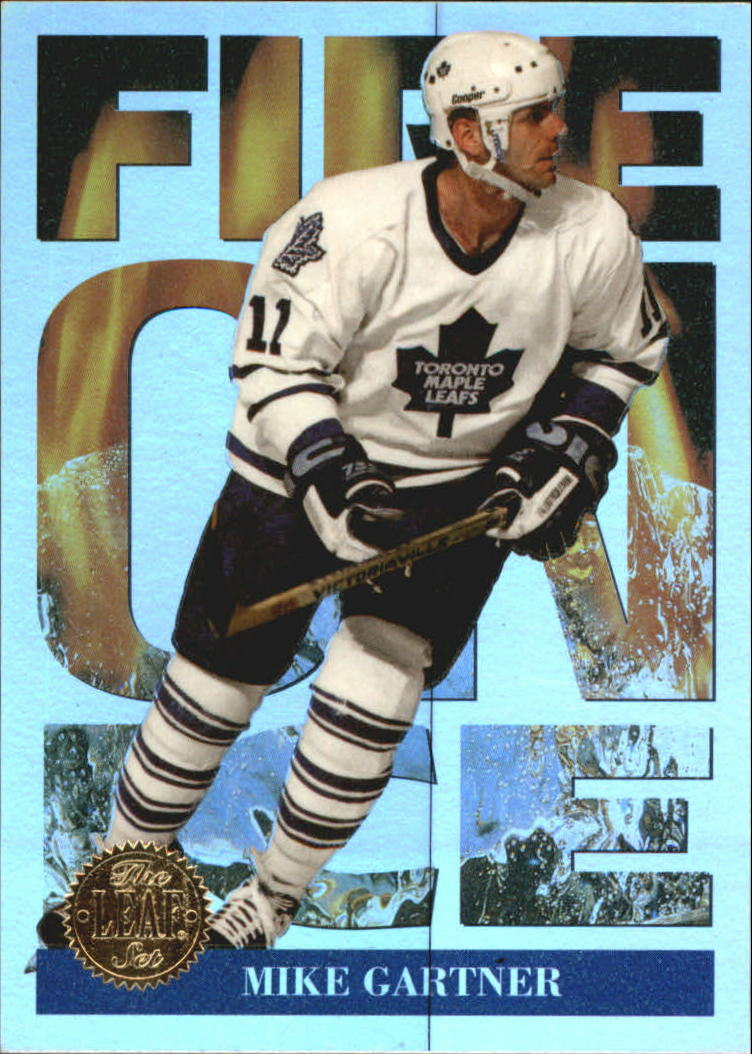 1994-95 Leaf Fire on Ice #11 Mike Gartner