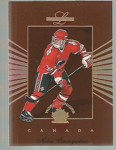 1994-95 Leaf Limited World Juniors Canada #1 Nolan Baumgartner