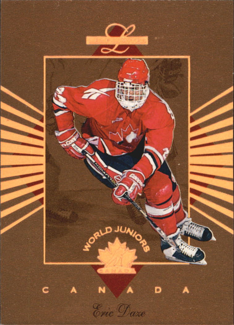 1994-95 Leaf Limited World Juniors Canada #2 Eric Daze