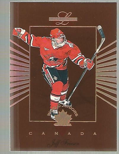 1994-95 Leaf Limited World Juniors Canada #3 Jeff Friesen