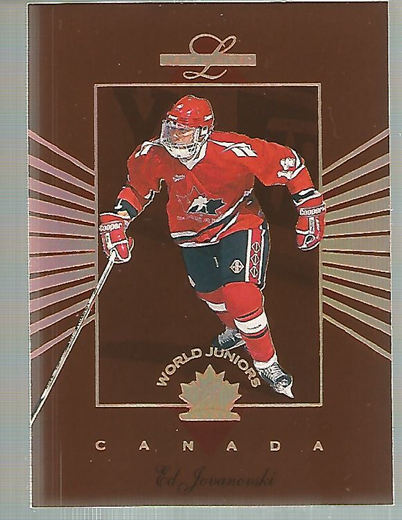 1994-95 Leaf Limited World Juniors Canada #5 Ed Jovanovski