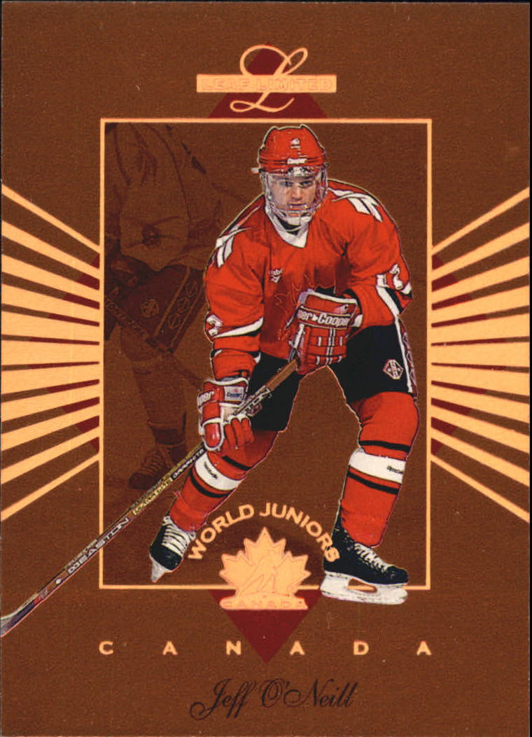 1994-95 Leaf Limited World Juniors Canada #6 Jeff O'Neill