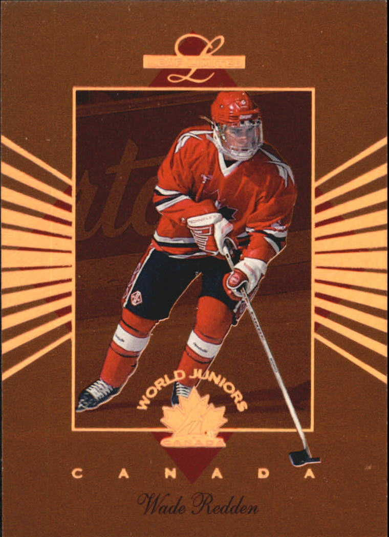 1994-95 Leaf Limited World Juniors Canada #7 Wade Redden