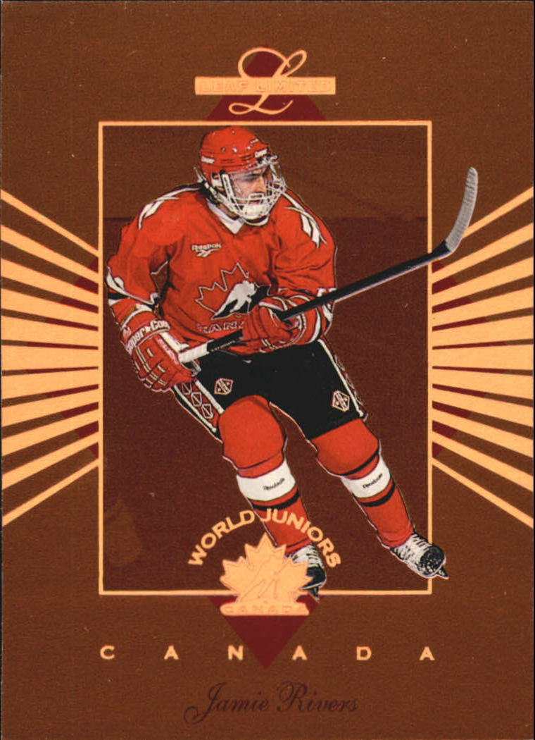1994-95 Leaf Limited World Juniors Canada #8 Jamie Rivers
