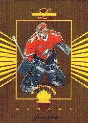 1994-95 Leaf Limited World Juniors Canada #10 Jamie Storr