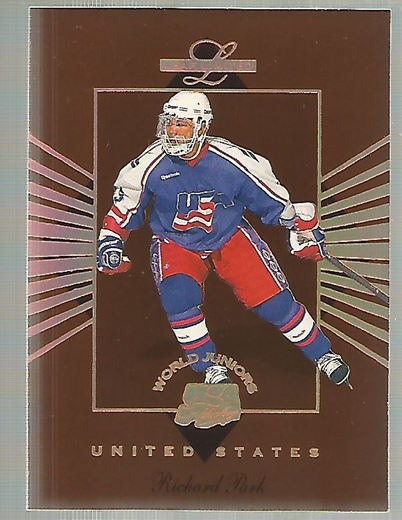 1994-95 Leaf Limited World Juniors USA #9 Richard Park