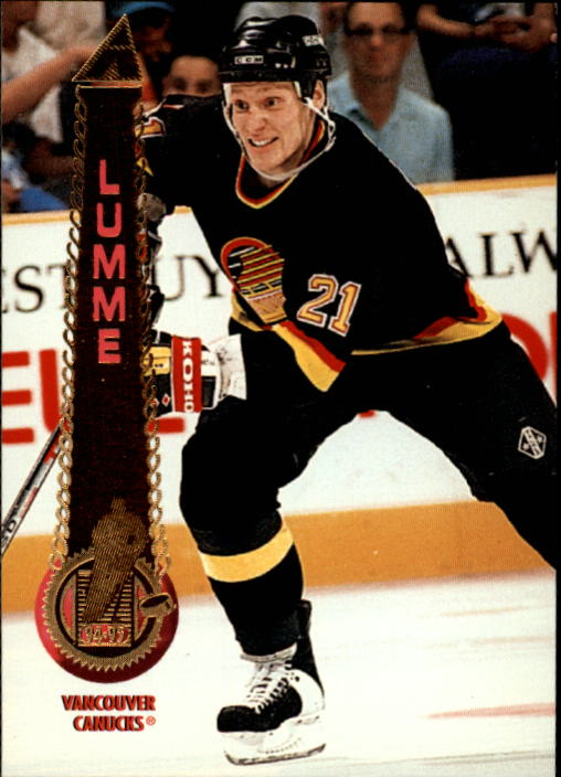 1994-95 Pinnacle #86 Jyrki Lumme front image